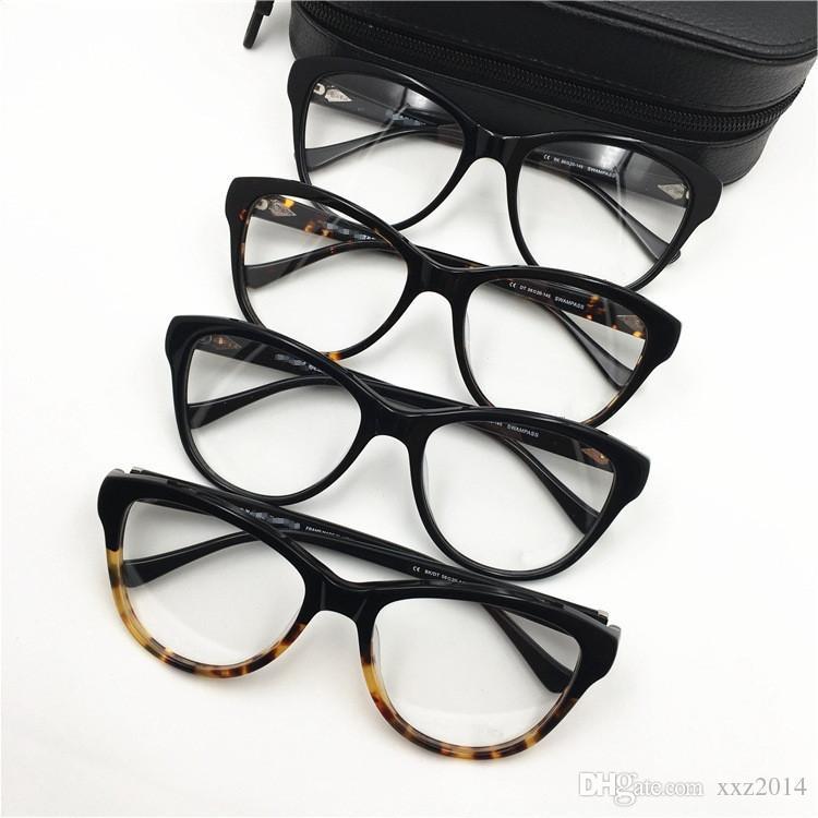 Qualité hotsale Retro-frame vintage de femmes SWAMPASS 56-20-145 du cadre de la myopie version coréenne pour les lunettes de prescription cas Fullset