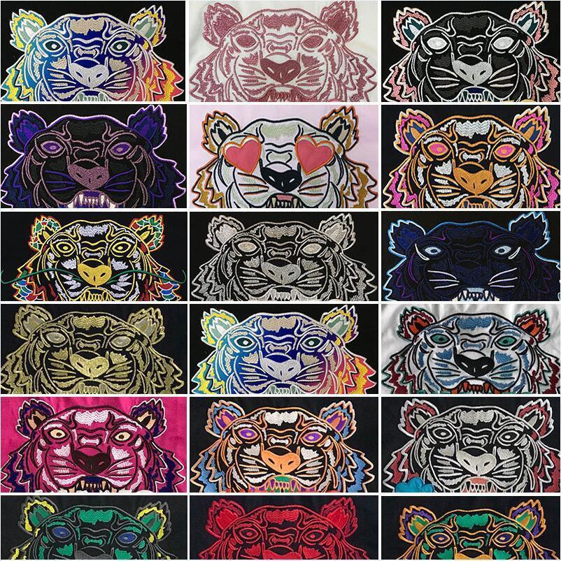 Ins Hot 20ss camisa do desenhista t Primavera-Verão americano Unisex Bandana tigre Skate Homens Mulheres Homens Casual t-shirt bom homens camisetas