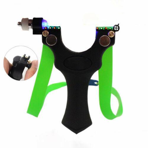 목표 포인트 램프 시력 평면 고무 밴드 블랙 양궁 사냥 ABS 새총 수지 투석기 야외 활