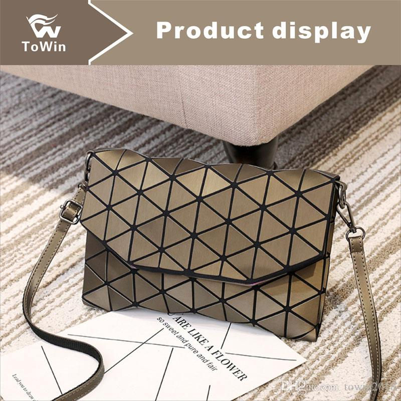 New Style Boston Bag Classic Magnetic Snap Handbag Fashion Flap Bags Women Tote Sling Bag Synthetic Leather Shoulder Bags Lady Wallet Purse