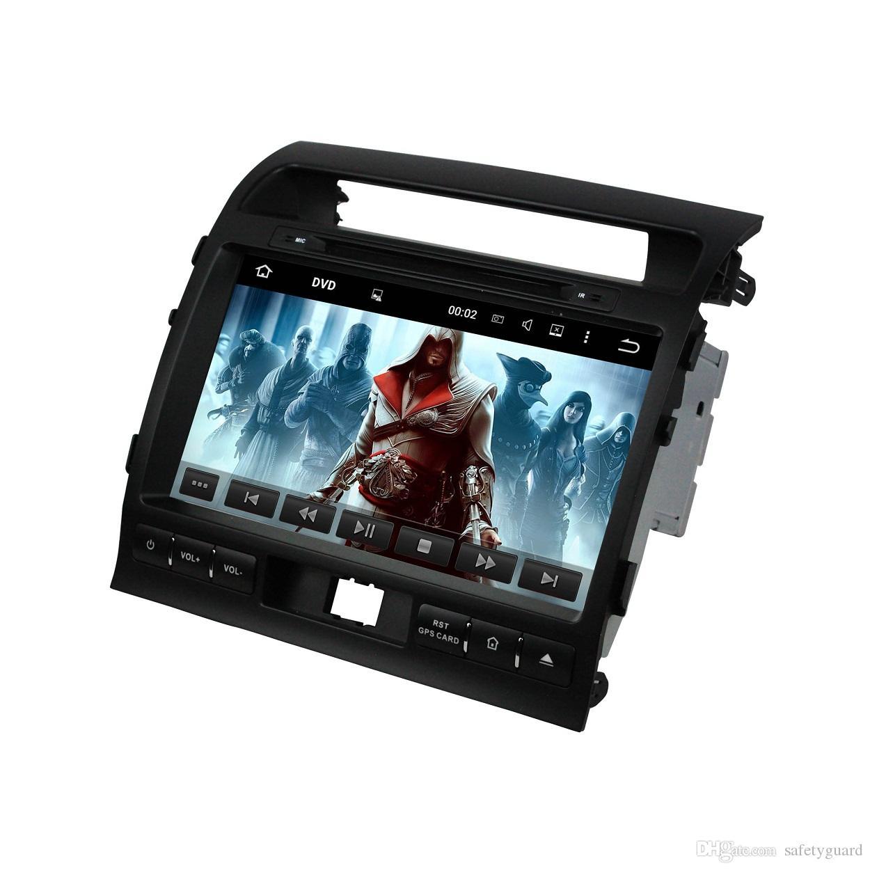 """Для Toyota Land Cruiser 2008-2012 4 ГБ RAM 32 ГБ ROM Автомобильный радиоприемник Octa Core 9 """"Android 8.0 Автомобильный DVD-плеер GPS Bluetooth WIFI USB Mirror-link"""