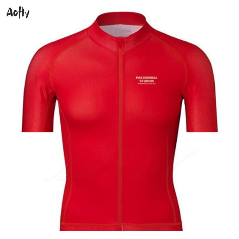 De nombreux styles d'été cyclisme maillot manches courtes Pro équipe PNS été rapide à sec Vélo VTT Vélo Hauts Vêtements Vêtements Ropa Ciclismo