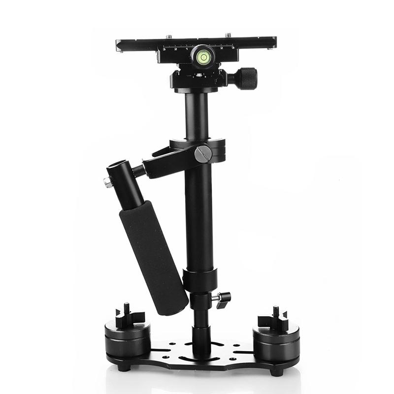 Freeshipping S40+ 0.4M 40CM Aluminum Alloy Handheld Steadycam Stabilizer for Steadicam for Canon Nikon For GoPro AEE DSLR Video Camera