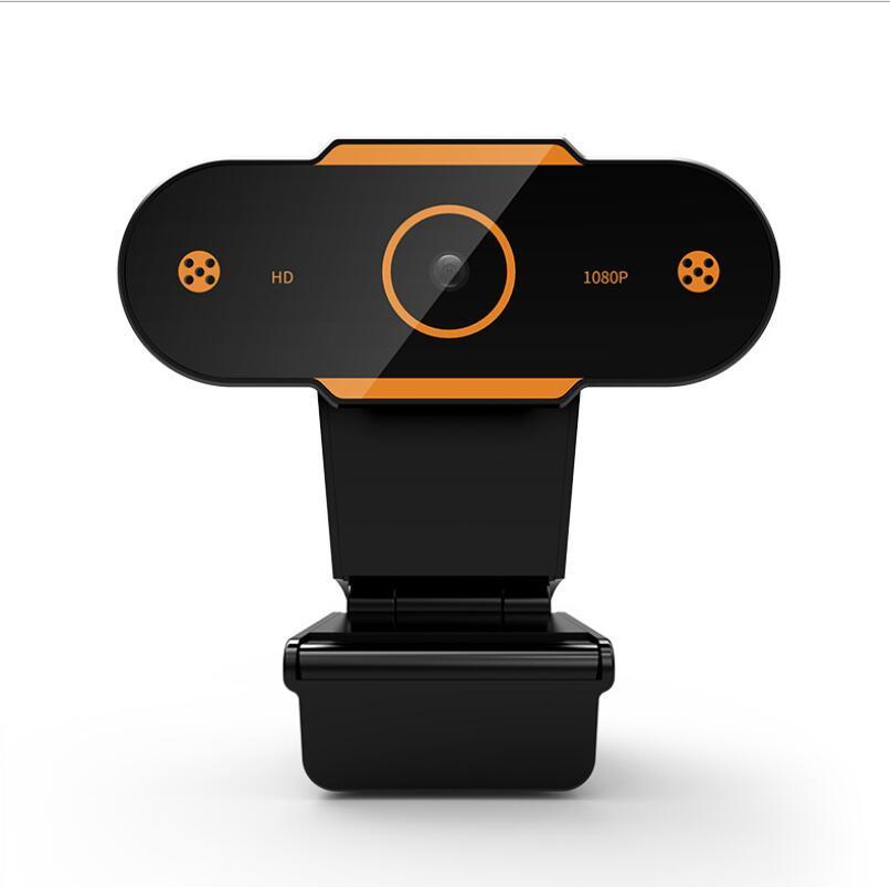 Full HD 1080P 2K Webcam USB С микрофоном мини-компьютерная камера, гибкая поворотная для ноутбуков, настольная веб-камера онлайн-образование
