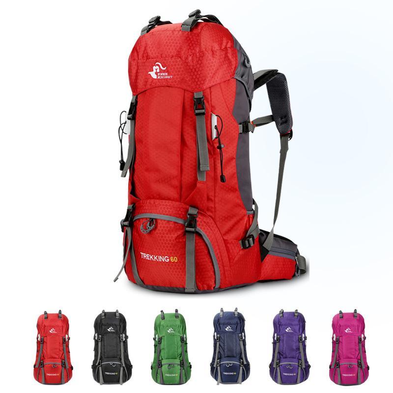 60L sac de sport d'épaule en plein air imperméable Oxford alpinisme randonnée sacs à dos marque grande capacité sac de voyage