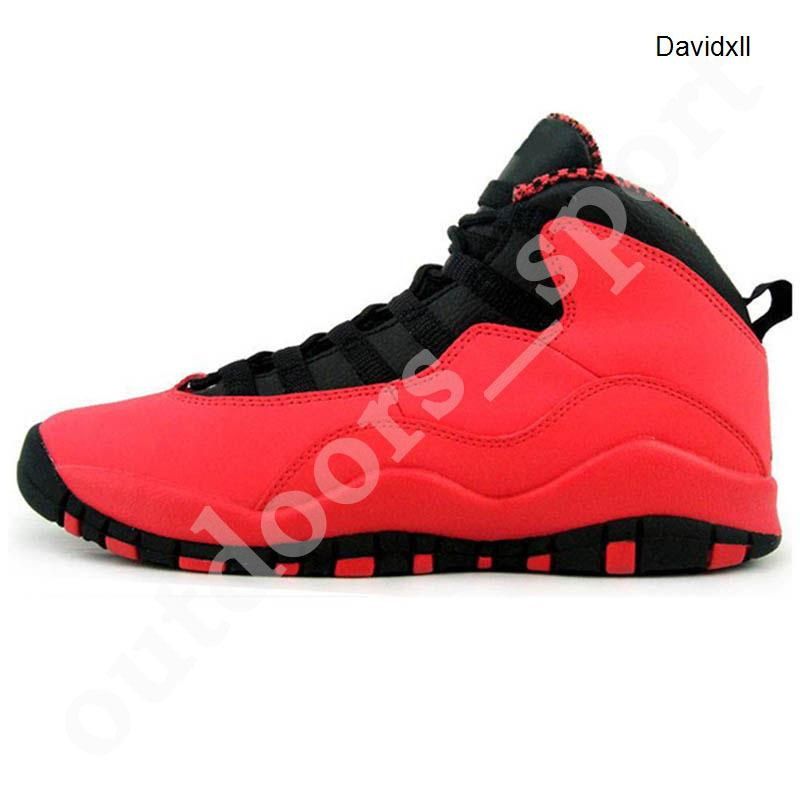 2020 Jumpman GS Fusion Red 10s Mens