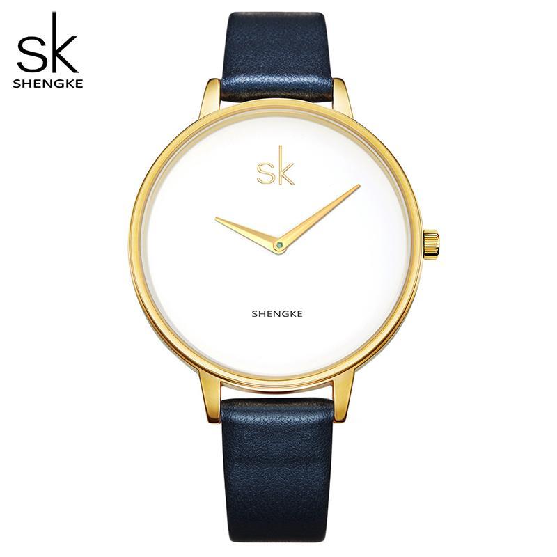 Shengke 2017 Mode Frauen Uhren Marke Berühmte Quarzuhr Weibliche Uhr Damen Armbanduhr Montre Femme Relogio Feminino Neue