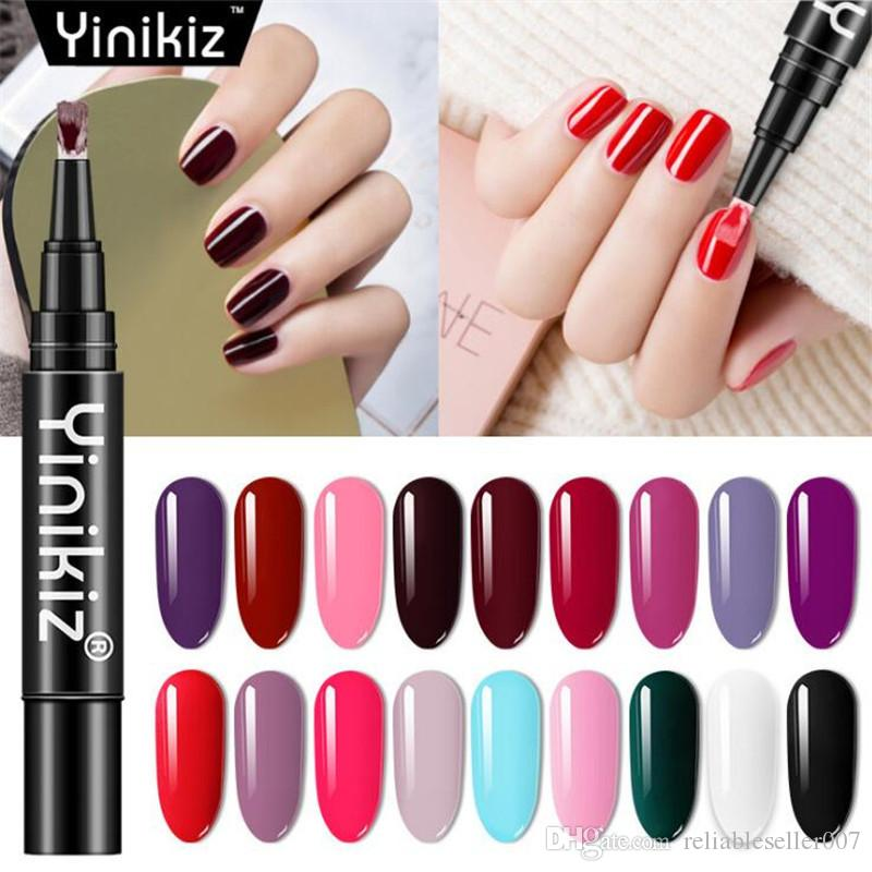 Gesundheit ungiftig One Step UV Gel Nagellack Pen Nagel Gel Lack Soak Off UV LED Gel Po.