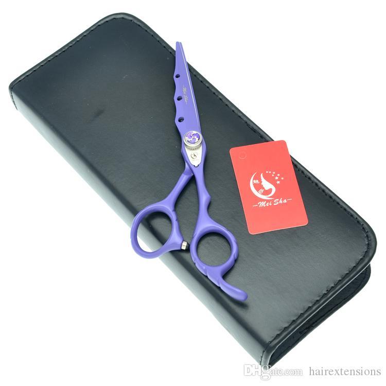 """Meisha 6.0 """"tesoura de corte de cabelo profissional para cabeleireiros Japão 440c cabeleireiro tesouras de desbaste salão de cabeleireiro ferramentas de estilo HA0071"""