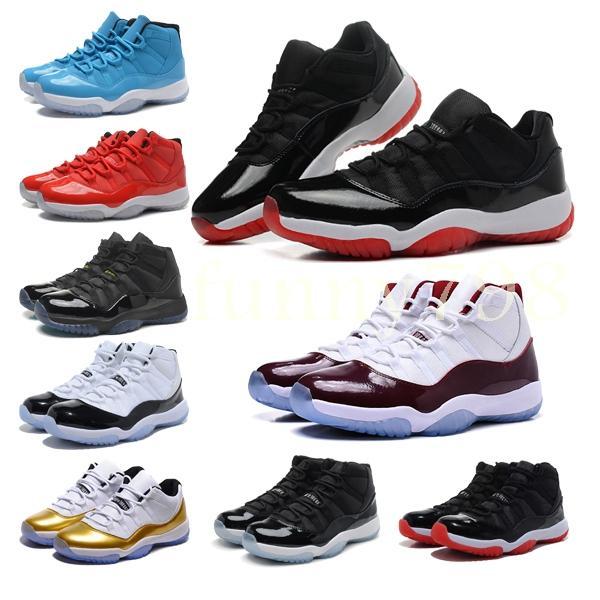 2019 nova qualidade 11 Mens 11 s Sapatos de Basquete Mulheres Concord homens 45 Platinum Designer cestas Sports Formadores chaussures Sneakers56e4 #