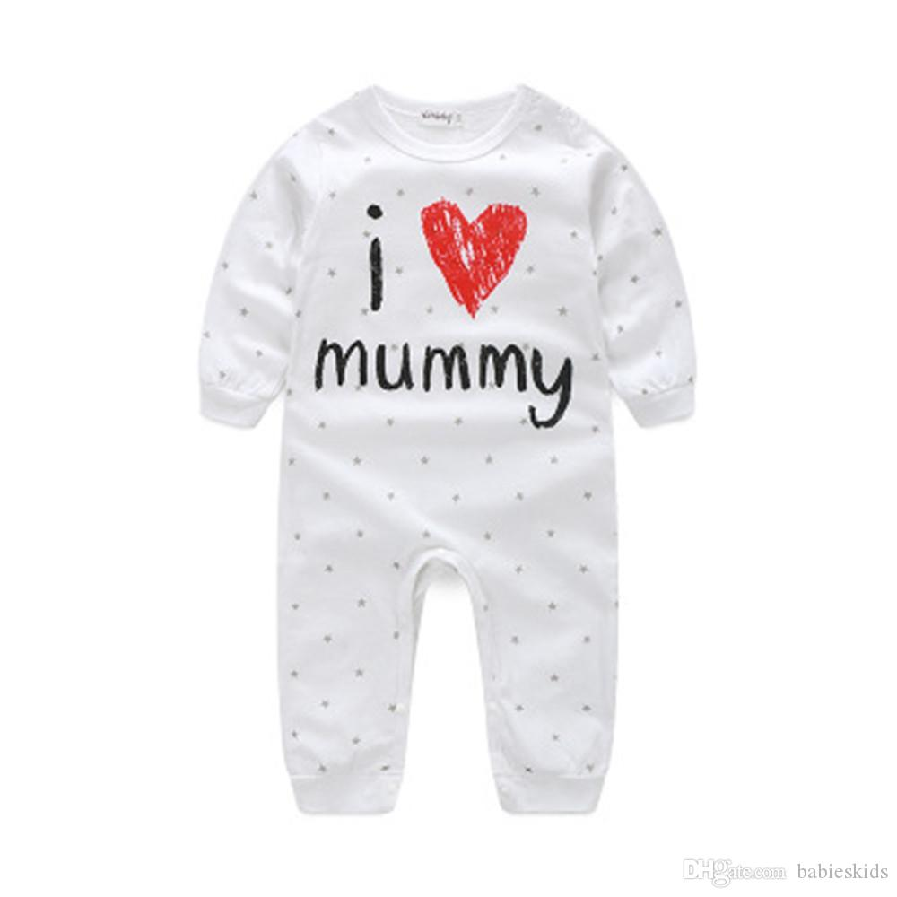 Newborn Toddler Infant Kids Baby Girls Boys Romper Bodysuit Outfit Clothes Hot
