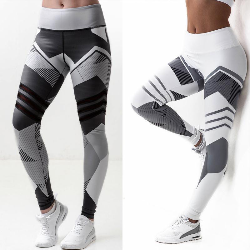 Kylie Pink Alto Elástico Fitness Deporte Pegamentos Medias Slim Running Sportswear Pantalones deportivos Mujeres Pantalones de yoga Secado rápido Pantalones de entrenamiento