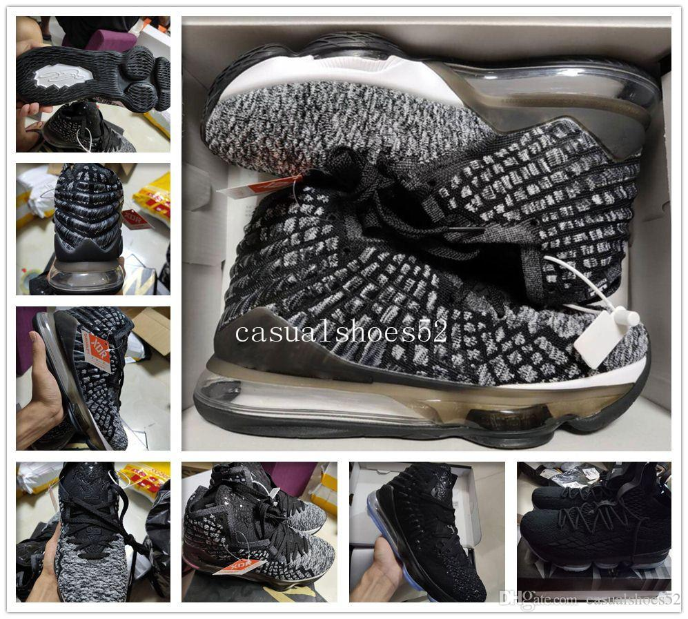good James Mens Basketball shoes Equality Oreo Bred Lebron 17 Battleknit Designer cushion Baskets Sports Sneaker Men Trainers Size 7-12