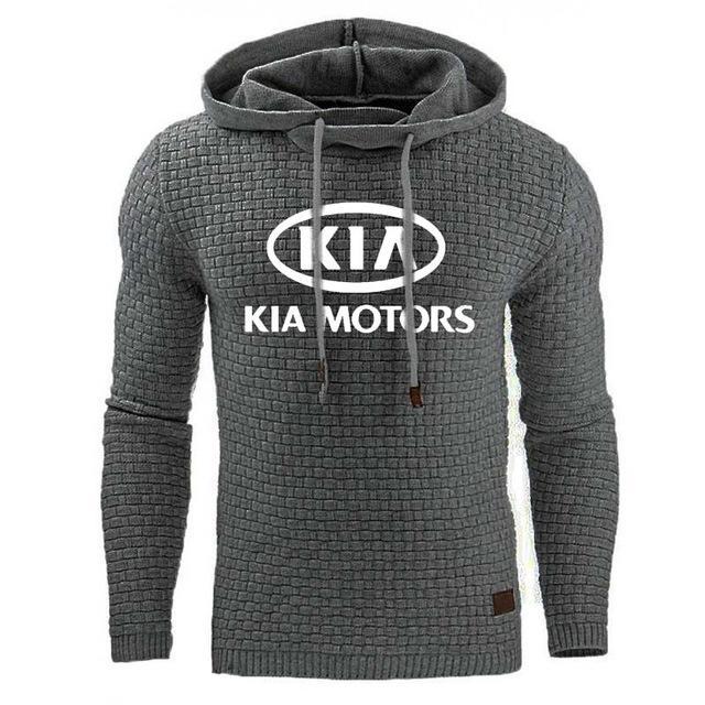 Sweats à capuche Homme pour KIA Car Imprimer Sweat-shirt Printemps Automne hommes hoodies sport hip hop survêtement à capuche Casual