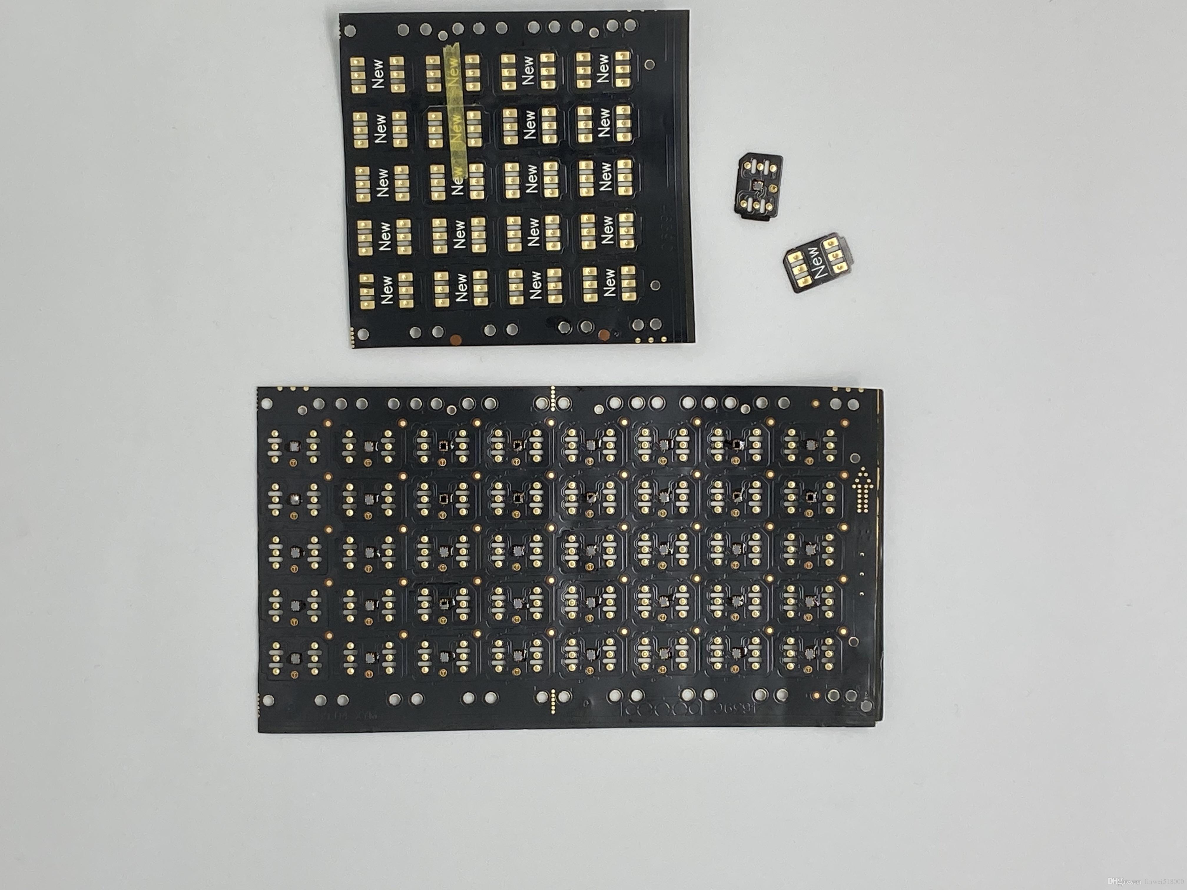 puce de déverrouillage noir GPPLTE V28 avec la nouvelle de turbo Gevey pour iphone5S / 6/7/8 / X
