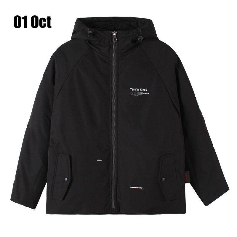 Men's Down & Parkas 2021 Men Hooded 70% Quality White Duck Jacket Warm Parka Outwear Fashion