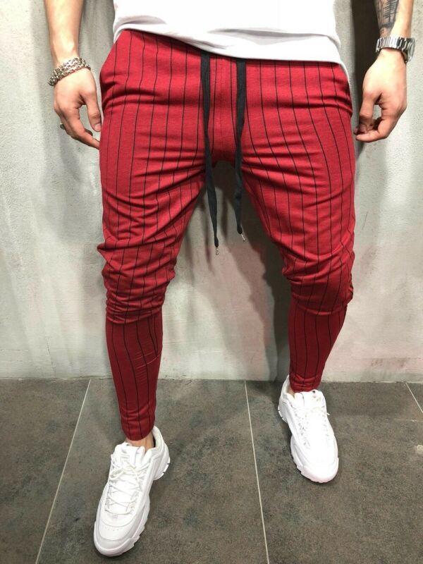 Мужские брюки Панк Стиль Мужчины Полнометражный Хунничный Тип Плиссированный Передняя Эластичная Талия Гарем