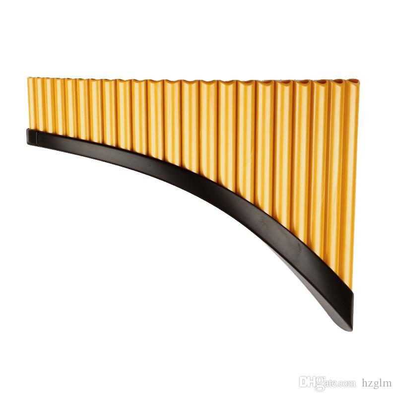 Compre 22 Tubos Flauta De Pan G Key Left Hand Pan Tubos De Viento De Madera Para Instrumentos Musicales Abs Pan Flauta A 84 69 Del Hzglm Dhgate Com