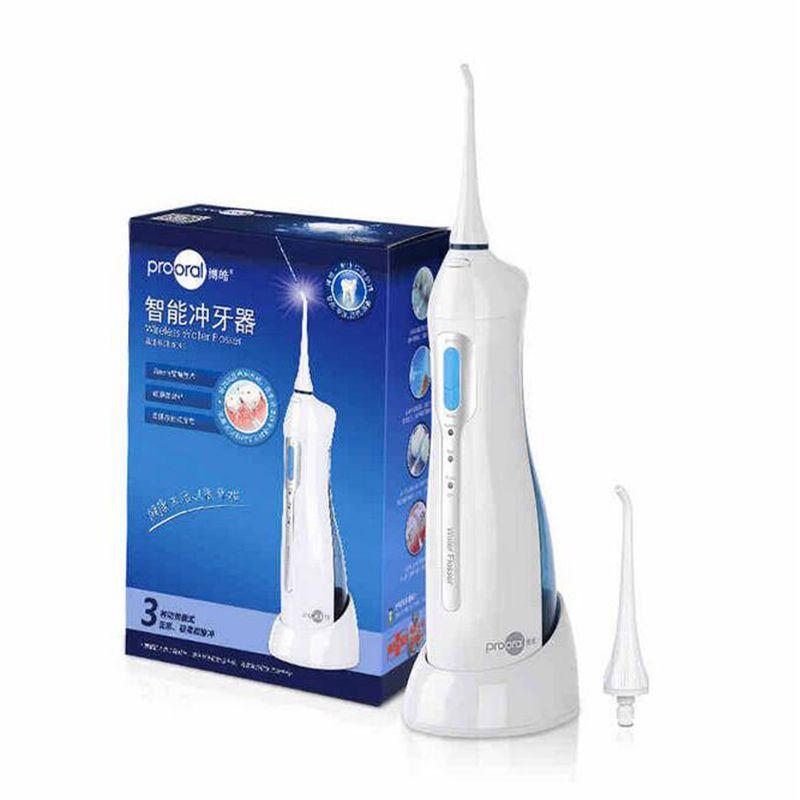 الأصلي Prooral الري عن طريق الفم 5013 الذكية الأسنان المحمولة غسالة IPX7 المهنية للماء لصحة الفم 4 ألوان صحة الفم
