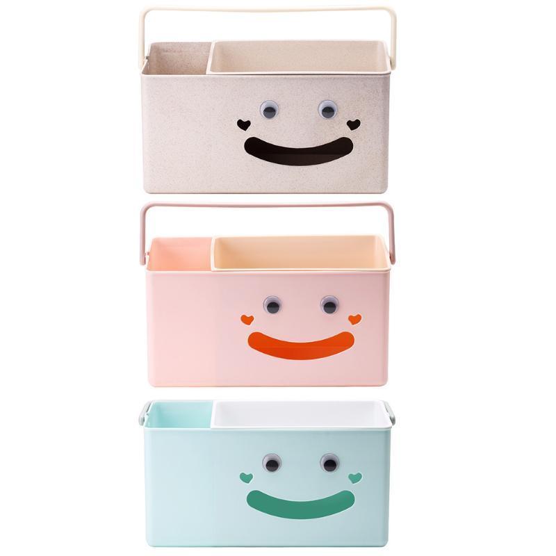 Armazenamento infantil Diaper Box cabeceira de armazenamento portátil de viagens Organizer com Carrying Dropshipping Handle