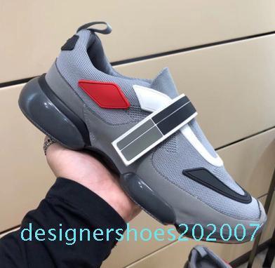 Qualité supérieure! Cloudbust Casual chaussures 18SS baskets Designer hommes chaussures occasionnels femmes chaussures pâte véritable mode en cuir D07