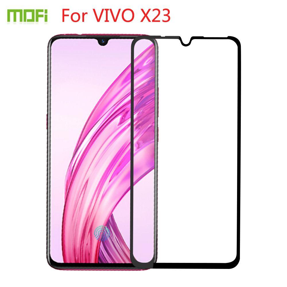Für VIVO X23 gehärtetes Glas MOFI Vollbild-Abdeckung für VIVO X23 gehärtetes Glas Displayschutzfolie für VIVO X23