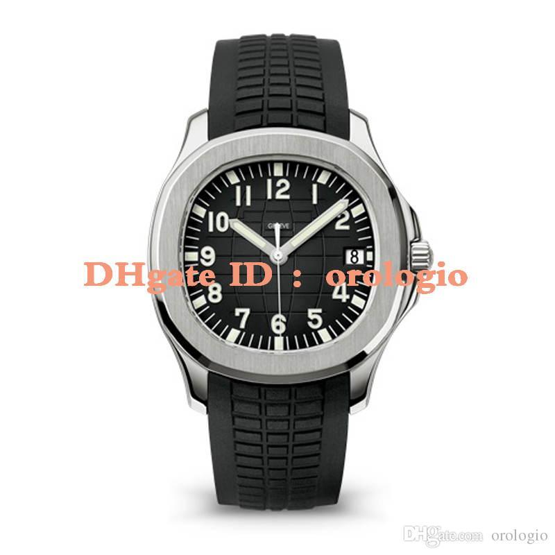 2020 movimento orologi da polso automatico Aquanaut acciaio inossidabile in gomma comodo cinturino fibbia originale degli uomini Super luminosi orologi