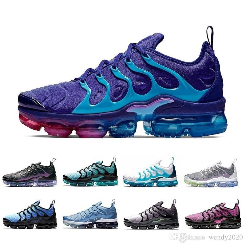 2020 tn artı erkek tasarımcı koşu ayakkabıları erkekler kadınlar gündelik hava yastığı eğitmenler Regency Çalışma Hiper Belirme Mavi spor ayakkabı 36-45 eagles