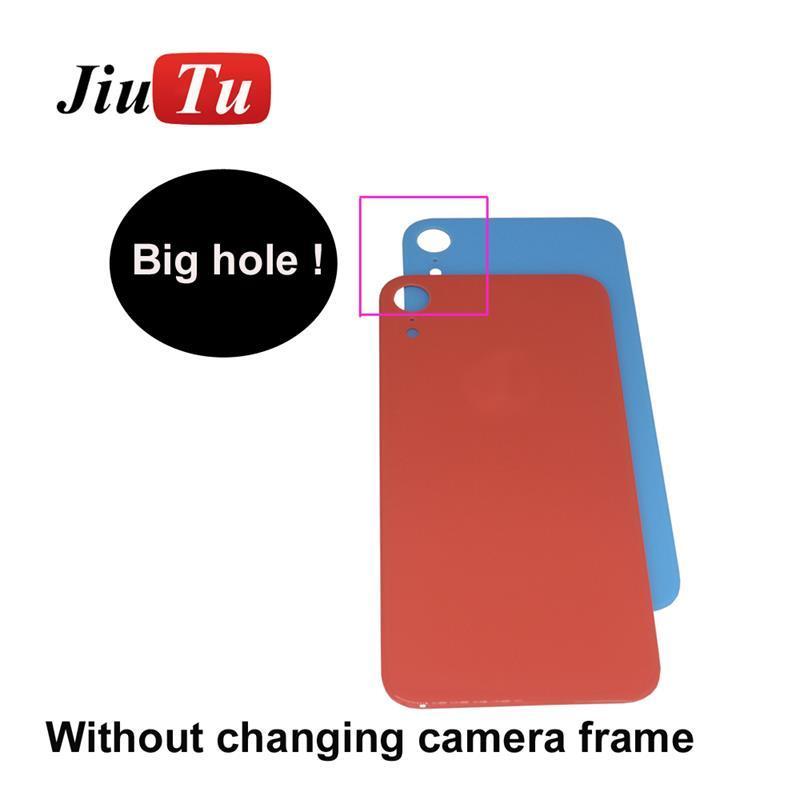 Logolu iPhone 11 11Pro Max 8 8plus X XS XR XS Max Pil Kapağı Arka Kapı Konut Orijinal İçin Geri Cam Değiştirme