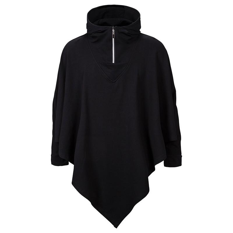 Black Designer Mens Sweats à Sweats à capuchon avec la mode Assassin Loose Sweats à capuche AUUTMN Automne Style Cool Zipper Mens KFTLJ