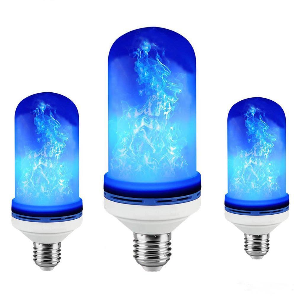 4 طرق E26 / E27 / B22 LED لمبة لهب رأسا على عقب تأثير مقلد الديكور خمر جو الإضاءة مصباح