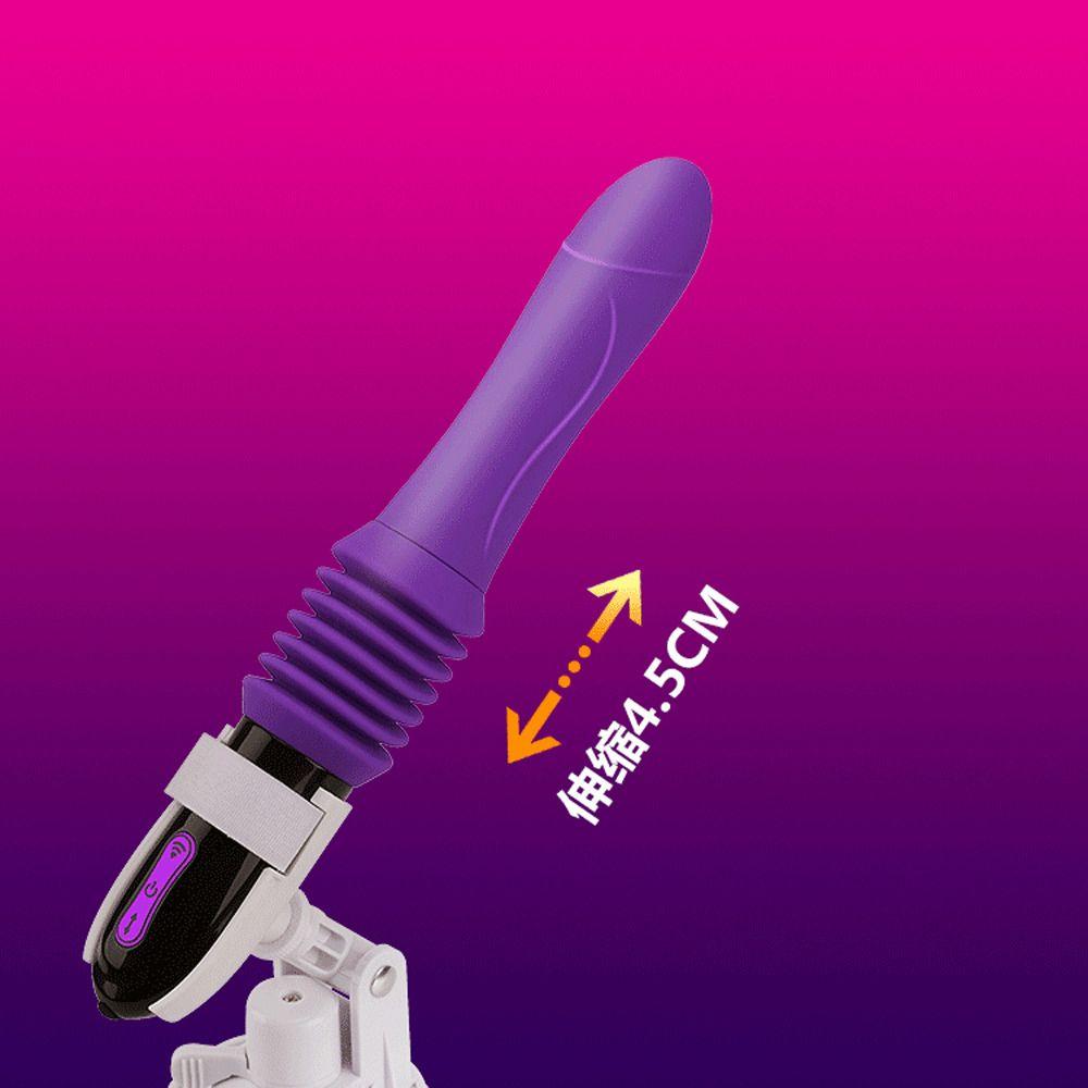 Vibrator automatique Femme Dildo Masturbation Stretching Massager G-Spot Jouets pour les femmes Chargeur USB Sex Machine Y200410