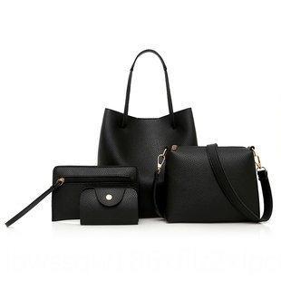 colore solido madre madre a quattro pezzo di stile spalla e bambino di quattro piece Sacchetto modo semplice borsa a tracolla delle donne set
