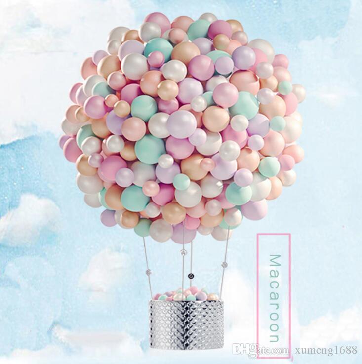10 inch Macaron Latex balloons Candy Balloon For Party Wedding Birthday Child Toys Globos Party Balloons