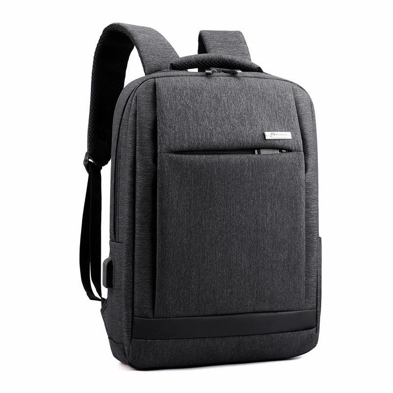 Usb Port de charge Prise casque Sac à dos pour ordinateur portable Homme Sac Voyage d'affaires multifonction Élève Bagpack pour garçons