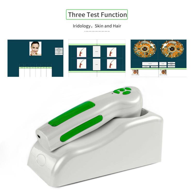 Yüksek kalite !!! Profesyonel dijital Iriscope iridology kamera göz test makinesi 12.0MP analizör tarayıcı CE iris / DHL