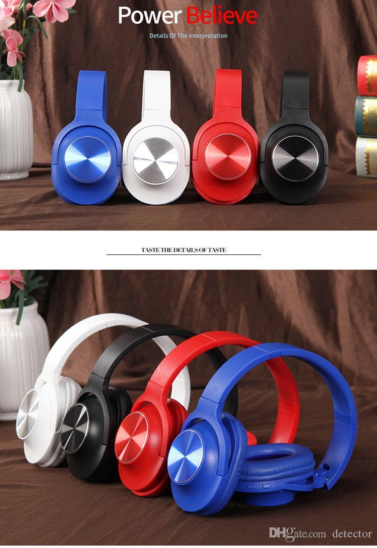Wired headphone for gaming PC xbox one PS4 computer tablet smart cell phones wireless headband microphone remote control bluetooth 50pcs DHL