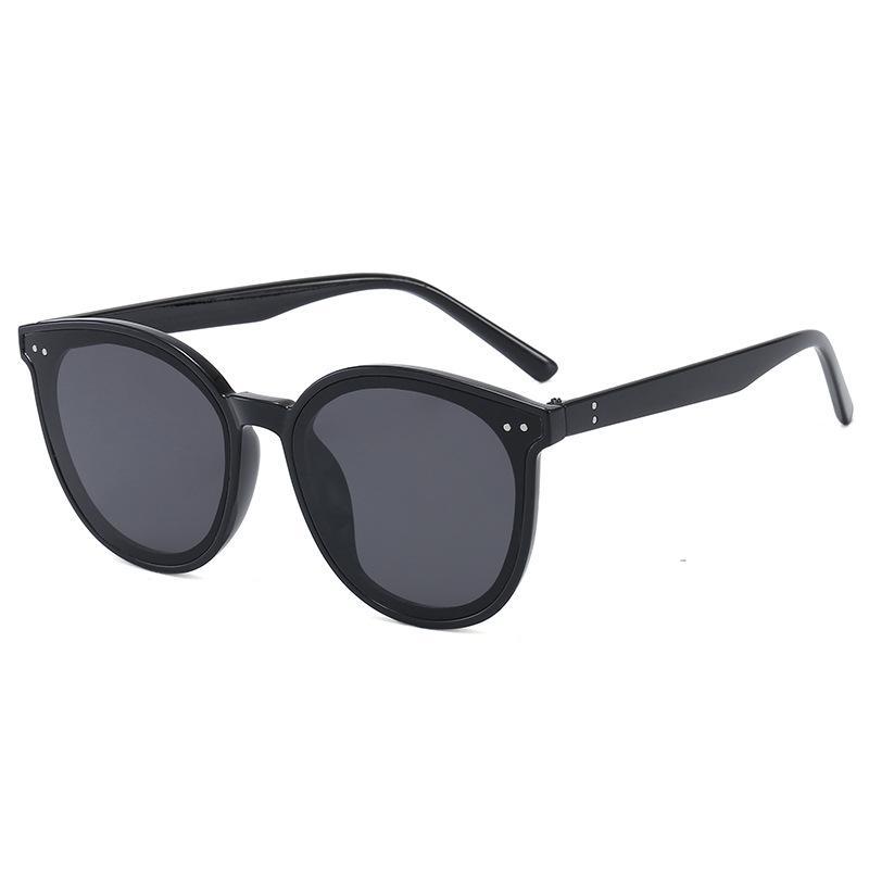 2020 nueva uña retro gafas de sol Solo los hombres y las mujeres tendencia de la moda gafas de sol, gafas de fina malla roja