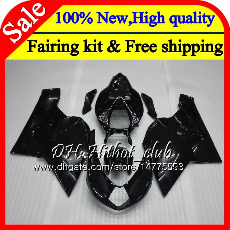 Body For MV Agusta F4 05 06 R312 750S 1000 R 750 1000CC 13HT17 1000R 312 1078 1+1 MA Glossy black MV F4 2005 2006 05 06 Fairing Bodywork