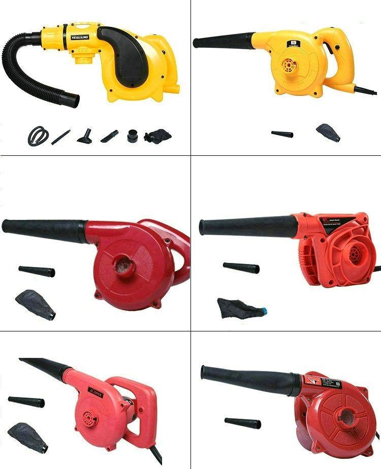 6 modelli possono scegliere i capelli elettrico portatile asciuga asciugacapelli portatile per computer / apparecchiature di polvere, segatura / pulizia della polvere