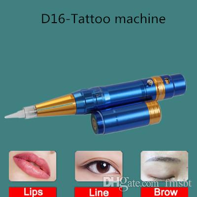 New hot sale semi-discharge dual-use tattoo machine tattoo eyebrow pencil for eyeliner lip and other semi-permanent tattoo