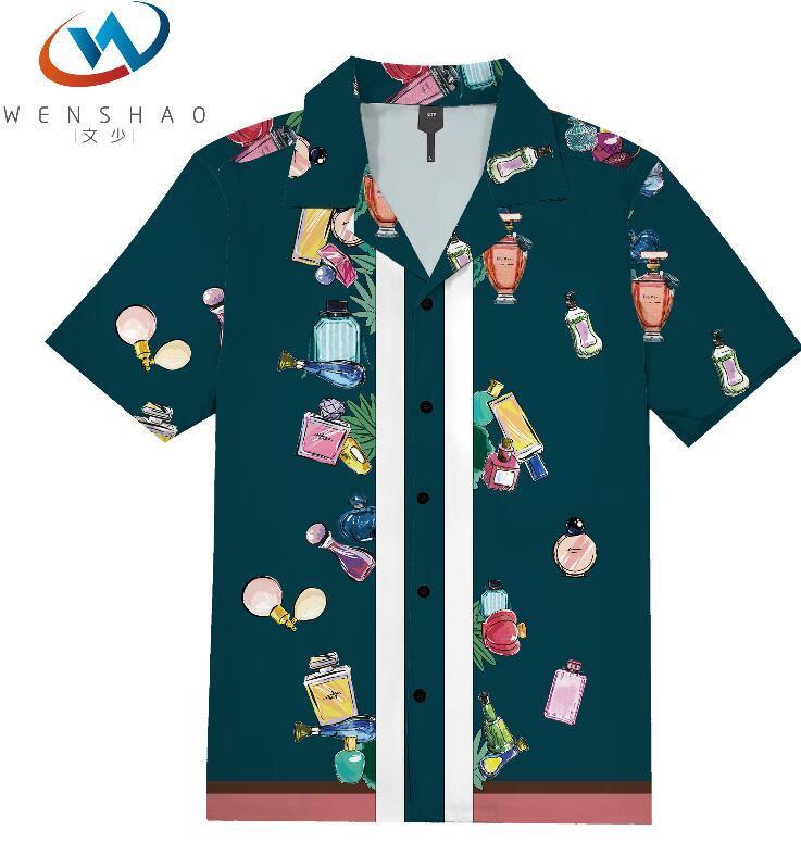 = 2020 ilkbahar yaz marka etiketi elbise erkekler Polo tişört yaka yaka kumaş mektup eğlence erkekler tişörtler ParisJJ17 Marka adı