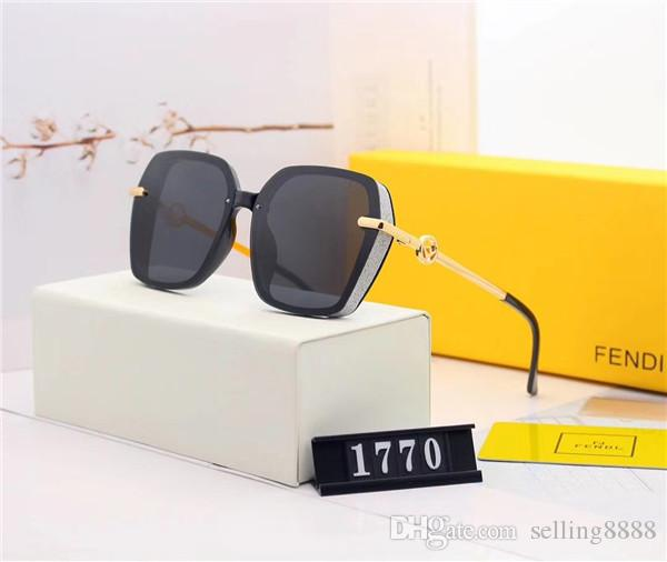 Lunettes de soleil rondes New Mode pour hommes Lunettes de soleil vintage classique Brand Design Lunettes de soleil Oculos De Sol avec étui de boîte