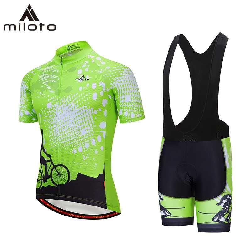 사이클링 저지는 밀로토 짧은 통기성 경주 자전거 천으로 ropa ciclismo maillot 승마 폴리 에스테 슈트