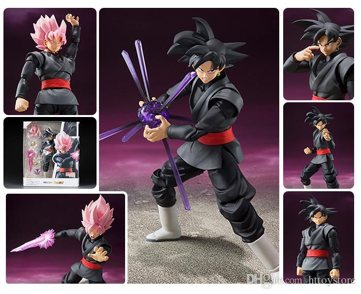 Dragonball Z S.H.Figuarts SHF Goku Black Super Saiyan Rose 6/'/' Action Figures