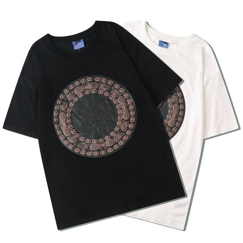gömlek Metal Baskı Çift Kısa Kollu T Yeni erkek 1588 Tişört Adam Ve Kadın Üst Kalite Yaz Tee M ~ XXL mens