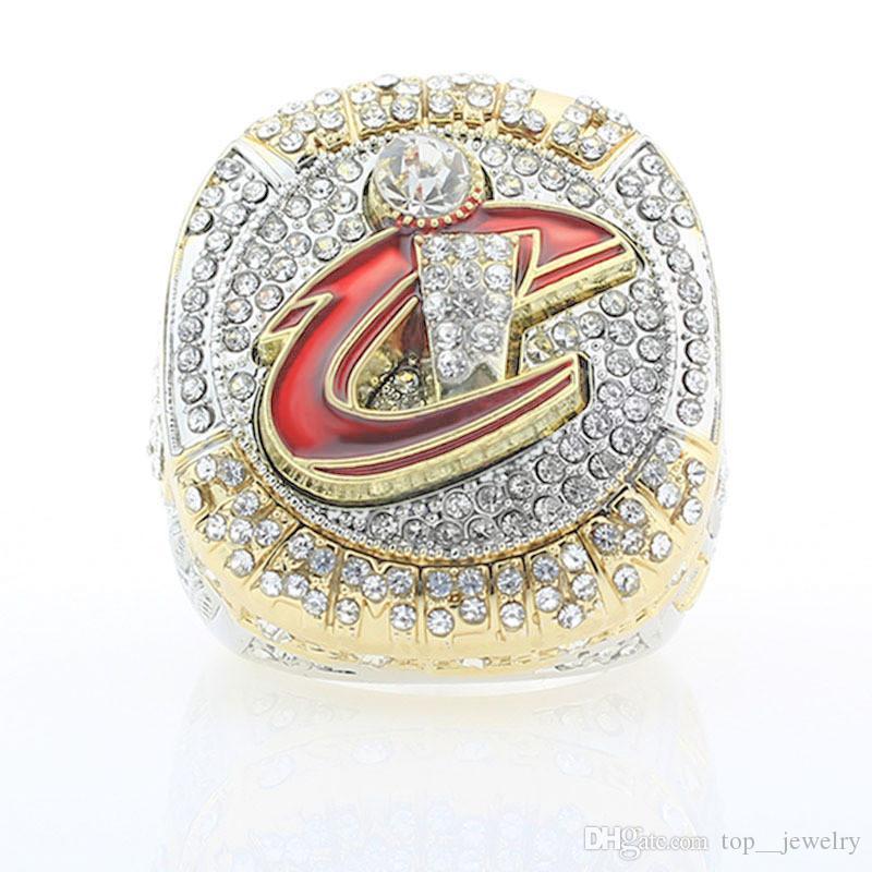 2016 캐벌리어스 농구 챔피언십 반지 무료 배송 23 팬클에 대한 제임스 반지 챔피언 반지 도매