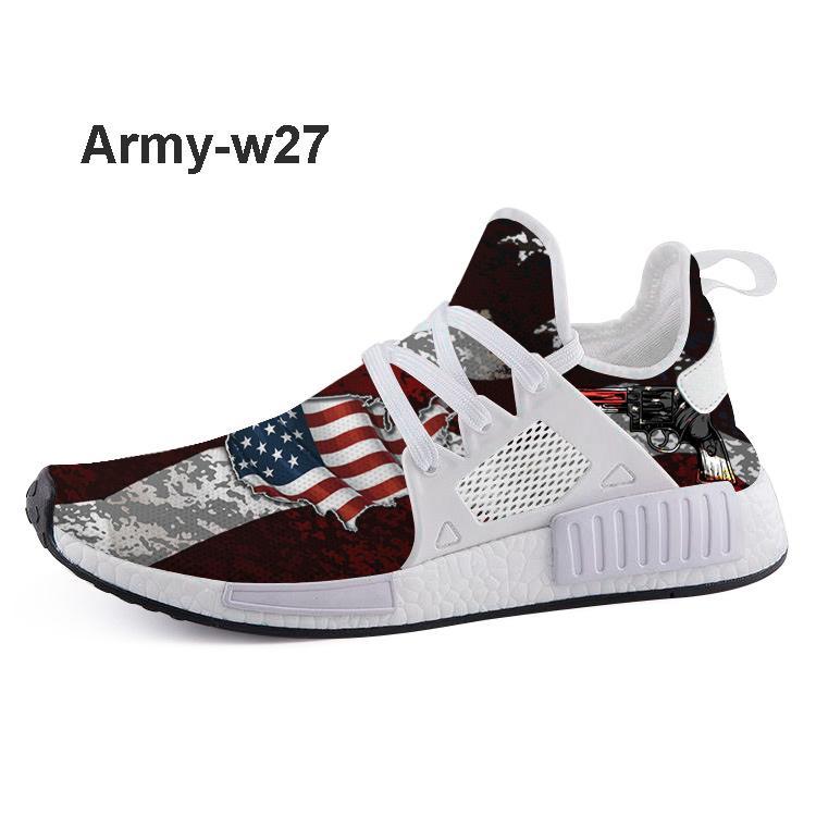 Rayas Primeknit Rrint de los zapatos corrientes de encargo del corredor para la venta, Tienda de descuento en línea de moda de tenis con la espuma de EVA se conecta shippng