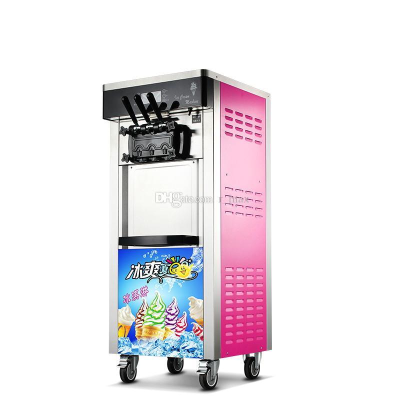 Dondurma dondurucu makinesi Otomatik Dikey tip yumuşak dondurma satışı Yaz Sezonu aperatif makinesi için makine Dondurma makier yapma