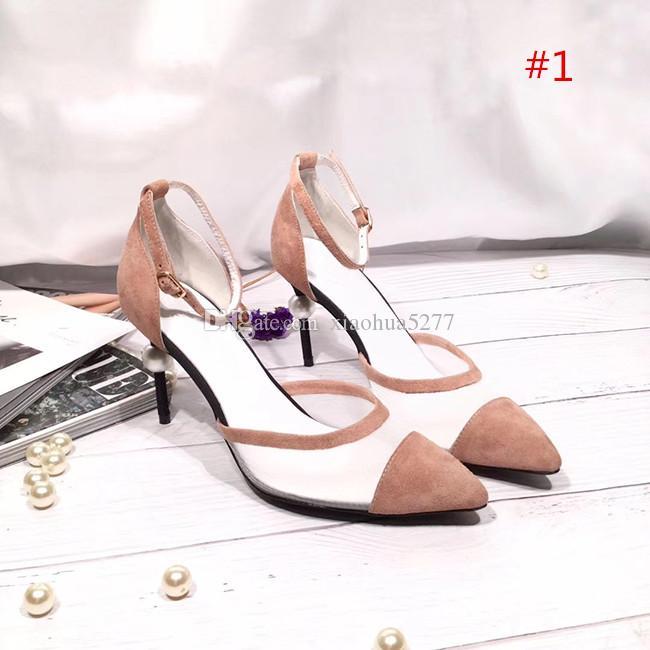% 100 Orijinal saçak kadın Tasarımcı platformu Parti ayakkabıları ile Modaya, yüksek kaliteli, yeni, sivri ve seksi Lüks Yüksek Topuklar platformu pompa